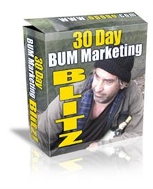 30 day bum marketing blitz with mrr