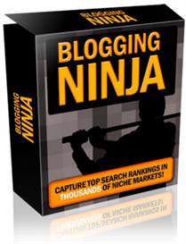 blogging ninja with master resale rights