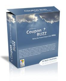 Coupon Buzz With Master Resale Rights   Software   Internet