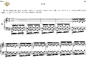 lesson no. 6 (1-2-3-4-5), the virtuoso pianist, part 1, ch.hanon, ed. schirmer (pd), tablet edition, a5 landscape, 2pp