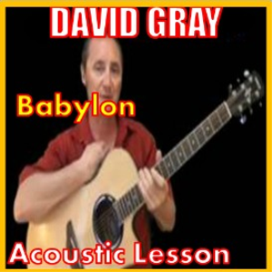 learn to play babylon by david gray