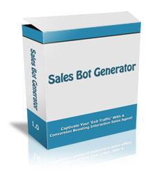 Sales Bot Generator With Master Resale Rights | Software | Utilities