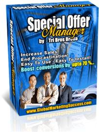 Special Offer Manager With Master Resale Rights | Software | Business | Other