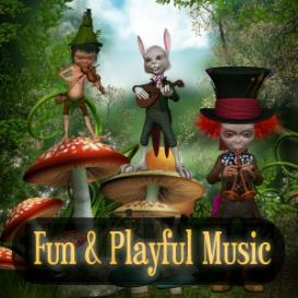 A Lively Playful Mood - 2 Min, License B - Commercial Use | Music | Children