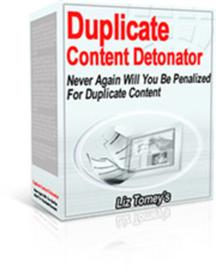 real duplicate content detonator with mrr