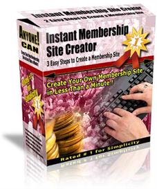 instant membership site creator latest version 3.2 with mrr