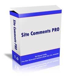 site comments pro with mrr