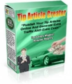 tip article creator  with mrr