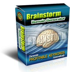 *new* brainstorm domain generator  with mrr