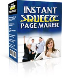 Instant Squeeze Page Maker With MRR | Software | Internet