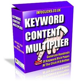 keyword content multiplier - generate multiple keyword relevant pages