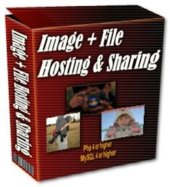image and file hosting script with resale rights