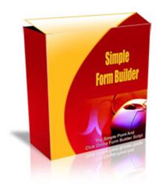 simple form builder with resale rights