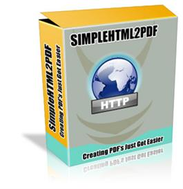 simple html 2 pdf with resale rights