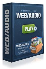*new* web/audio flash player with resale rights