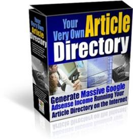 article site directory - your very own article directory script ! resa