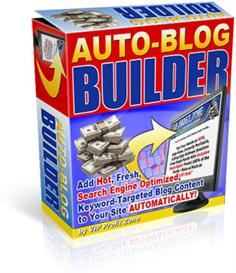 Auto-Blog Builder With Resale Rights | Software | Internet