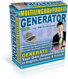 Multilingual Profit Generator - Generate Own SEO Amazon Stores in Engl | Software | Business | Other