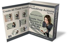 the lost photoshop actions - create images with 2 easy steps (mrr)
