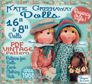 kate greenaway doll pattern