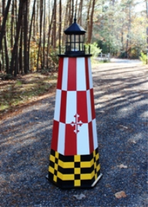 4 ft. painted lighthouse plans