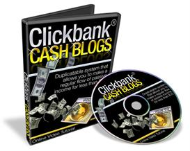 click bank cash blogs video series (mrr) included.