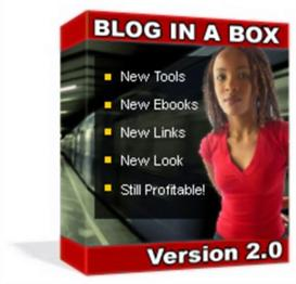 blog in a box toolkit v2.1(resale rights included)