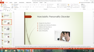 narcissistic personality disorder and histrionic personality disorder powerpoint