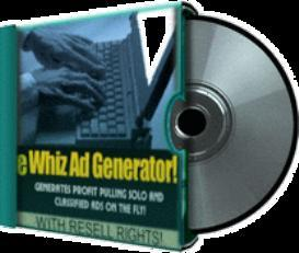 ewhiz ad generator with resale rights