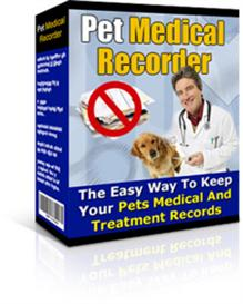 pet medical recorder with resale rights
