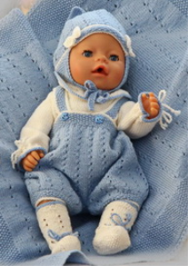 dollknittingpattern 0137d kasper   body, pants, socks, hat and blanket -(english)