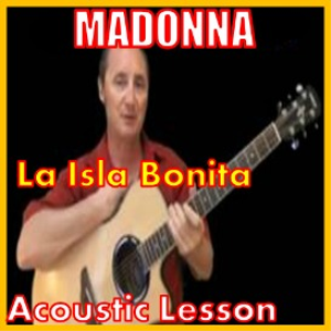 learn to play la isla bonita by madonna