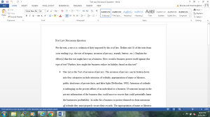 Tort Law Discussion Question | Documents and Forms | Research Papers