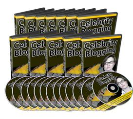 celebrity blogging video series  (mrr)