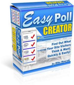 easy poll creator script - resale rights included.