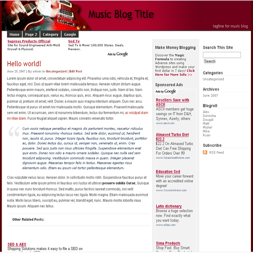 Second Additional product image for - Instant Wordpress Themes With Resale Rights