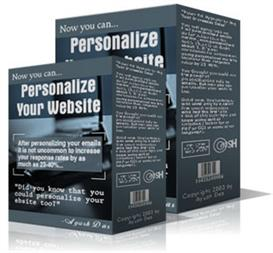 personalizing your website  (mrr)