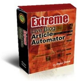 Extreme Live blog Article Automator | Software | Internet