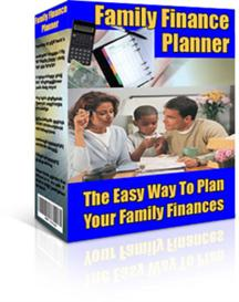 family finance planner with resale rights