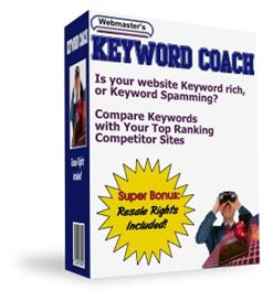 keyword coach with master resale rights