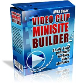 video clip minisite builder (private labels rights)