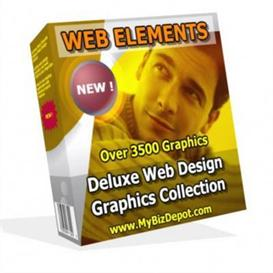 web elements web graphics gallery 2 with (mrr)