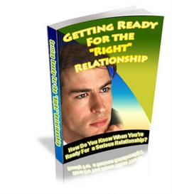 getting ready for the right relationship with mrr