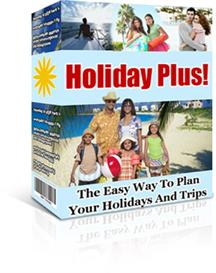 holiday plus - plan your trips with ease with this quick and easy plan