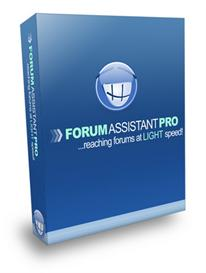 Forum Assistant Pro - Submit to forums at light speed (MRR) | Software | Internet
