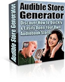 audible store generator (plr included)