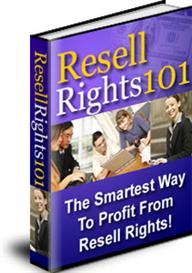 Resell Rights 101 With Master Resale Rights | eBooks | Internet