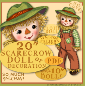 ScareCrowClothDoll | Crafting | Sewing | Other