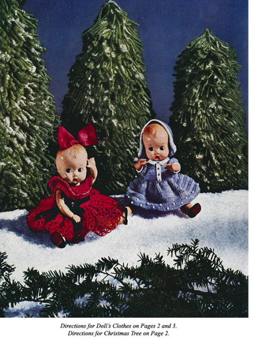 First Additional product image for - Crochet for Christmas   Star Book 83   American Thread Company DIGITALLY RESTORED PDF