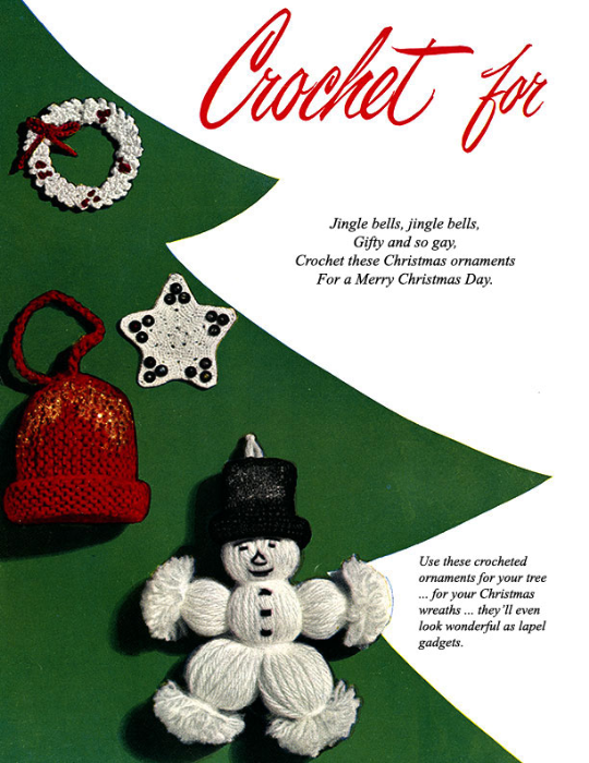Second Additional product image for - Crochet for Christmas   Star Book 83   American Thread Company DIGITALLY RESTORED PDF